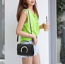 Элегантная сумка сундук с модным дизайном, фото 2