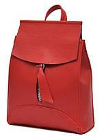 Рюкзак женский сумка из кожзама QPX Красный