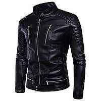 Косуха байкерска,куртка мужская кожаная.Натуральная кожа XL.