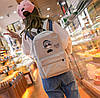 Тканевый рюкзак с принтом, фото 2