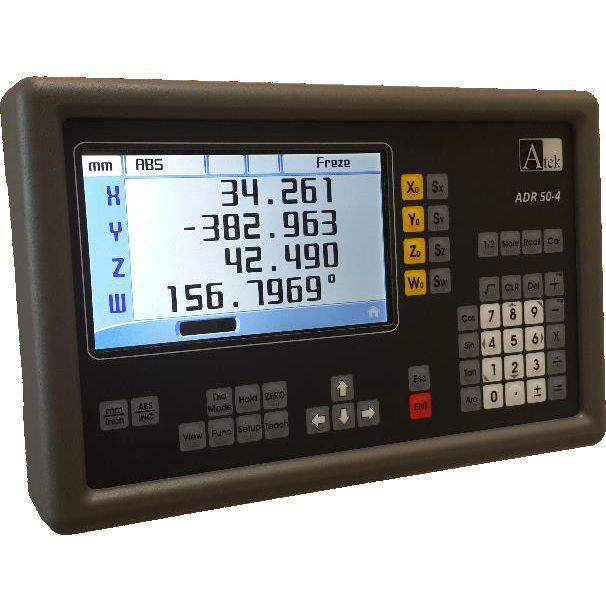 Четырехкоординатное устройство цифровой индикации с LCD дисплеем ADR-50-4