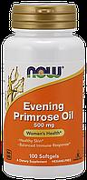 NOW - Evening Primrose Oil 500mg (100 softgels) \ Масло примулы вечерней (энотеры)