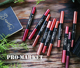 Помада-карандаш Metals Matte Metallic Lip Crayon