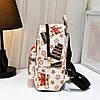 Небольшой городской рюкзак с принтом ромбики, фото 3