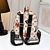 Небольшой городской рюкзак с принтом ромбики, фото 4