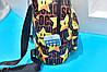 Городской рюкзак с принтом звезд Mocshino , фото 3