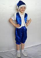 Карнавальный костюм Гномик (синий), фото 1