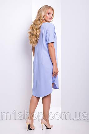 Женское платье с кружевом больших размеров (Донна lzn), фото 2