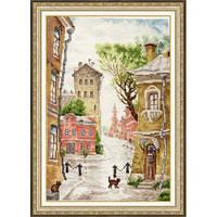 """Набор для вышивания крестом ТМ Золотое Руно """"Тихая улочка"""" ГМ-034"""