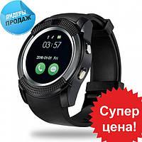 Умные смарт-часы Smart Watch V8 Black
