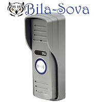 Цветная видеопанель DVT-600, 600 ТВЛ, антивандальная, ик-подсветка и подсветка кнопки, Tesla