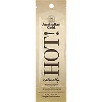 Крем с бронзатором  для загара в солярии AUSTRALIAN GOLD ALOE COLLECTION HOT! Naturally, 15 ml