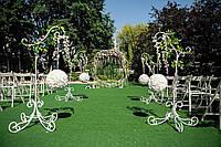 Свадебный декор Арка кольцо и стойки с шарами в аренду или продажу.