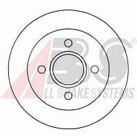 Тормозной диск A.B.S. 16375 на FORD SIERRA Наклонная задняя часть (GBC, GBG)