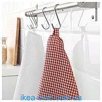 Полотенце кухонное IKEA TROLLPIL 803.720.01 красный