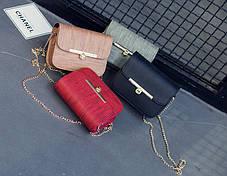 Ділова сумка скринька з матовим відтінком, фото 3