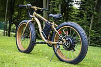 LKS FATBIKE Electro Rear Drive Электрический велосипед на толстых колесах мощность электродвигателя 1000 ВТ
