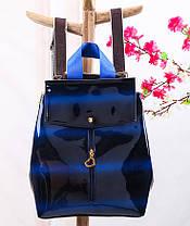 Большой голографический рюкзак с эффектом перелива, фото 3