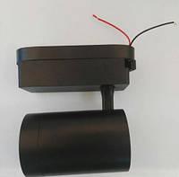 Переходник для крепления на поверхность черный для трекового светильник