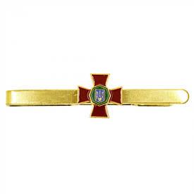 Зажим для галстука Национальная Гвардия Украины (металл)