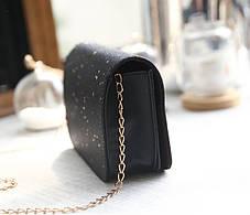 Стильная Fashion сумочка на цепочке с блестками, фото 3