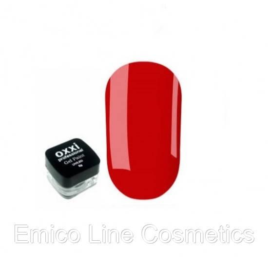 Гель-краска Oxxi Professional, № 5 (красный)