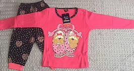 Детская пижама для девочек 7-9 лет
