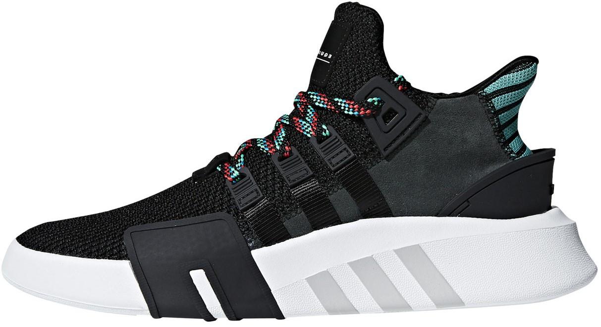 """Мужскиекроссовки adidas EQT BASK ADV """"Black/White"""" (Адидас Эквипмент) черные"""