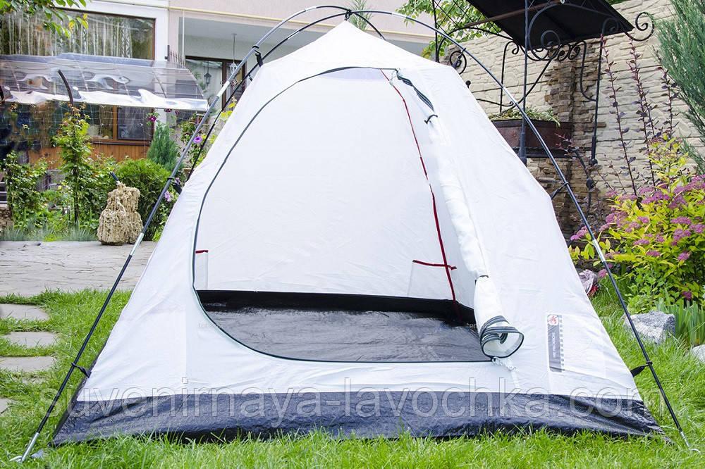Палатка JY 1506 2-х слойная Для туристического романтического похода для двоих. Не боится дождя