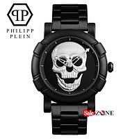 Гарантия! Подарок! Часы Philipp Plein серебро
