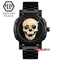 Гарантия! Подарок! Часы Philipp Plein золото реплика
