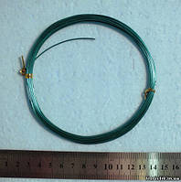 Проволока в мотках зеленая 1 мм.