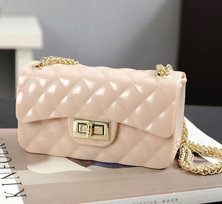 Оригинальная Fashion сумка сундучок на цепочке , фото 2