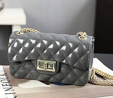 Оригінальна Fashion сумка скринька на ланцюжку, фото 2