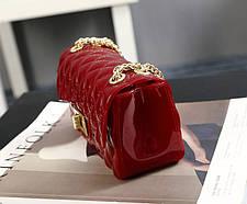 Оригінальна Fashion сумка скринька на ланцюжку, фото 3