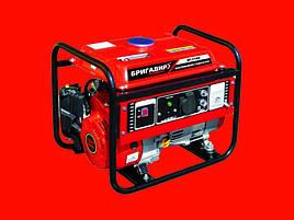 Бензиновый генератор Бригадир БГ-1100 на 1,1 кВт