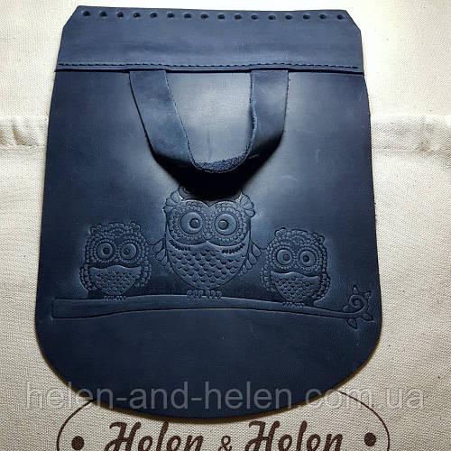 32221654b4bb Элементы из натуральной кожи для сумок ручной работы: клапан, ручки,  донышко и ремень от