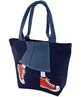 6246aeb05c79 Женская сумка для пляжа Traum 7011-33, голубая, цена 338 грн ...