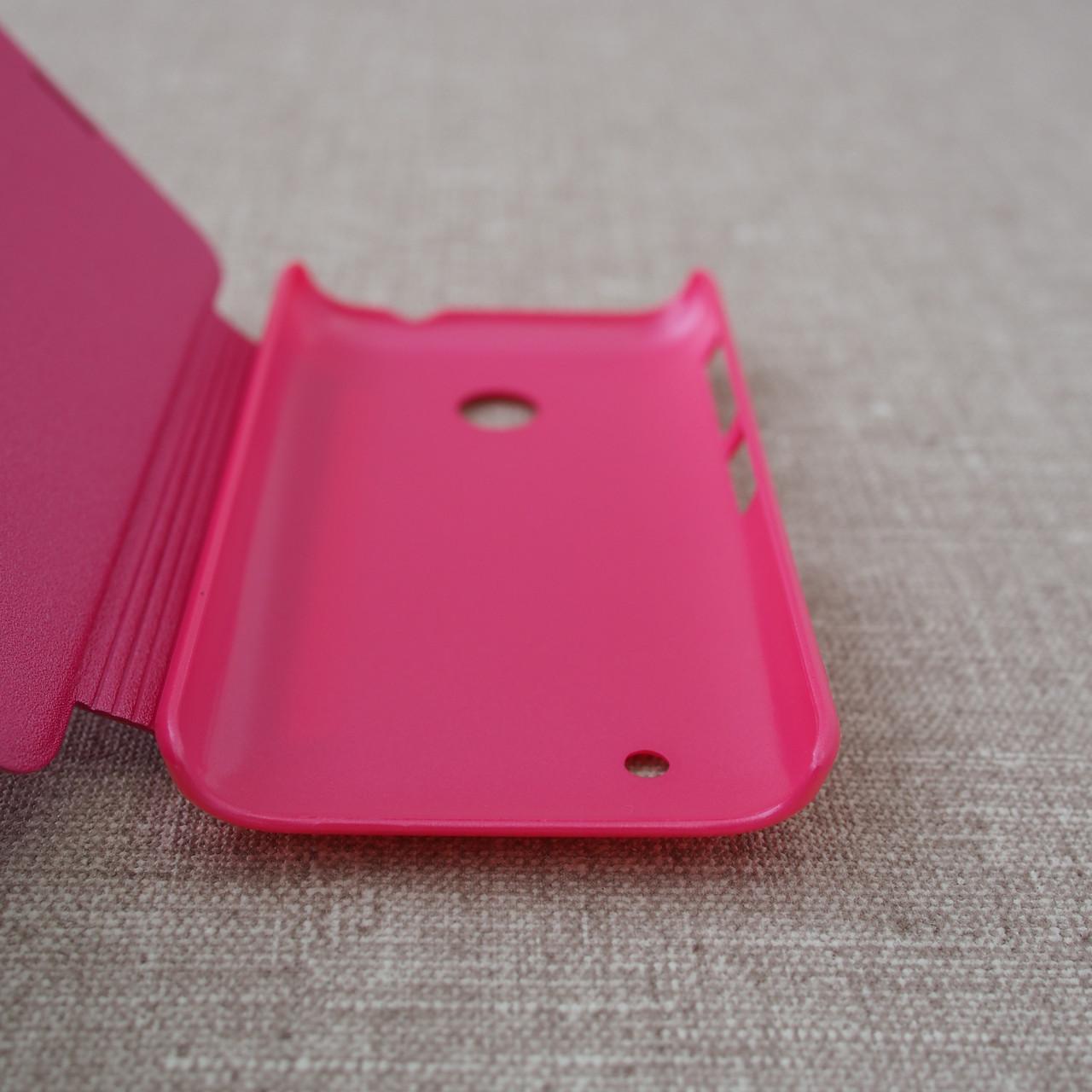 Чехол Nillkin Sparkle Nokia Lumia 530 pink