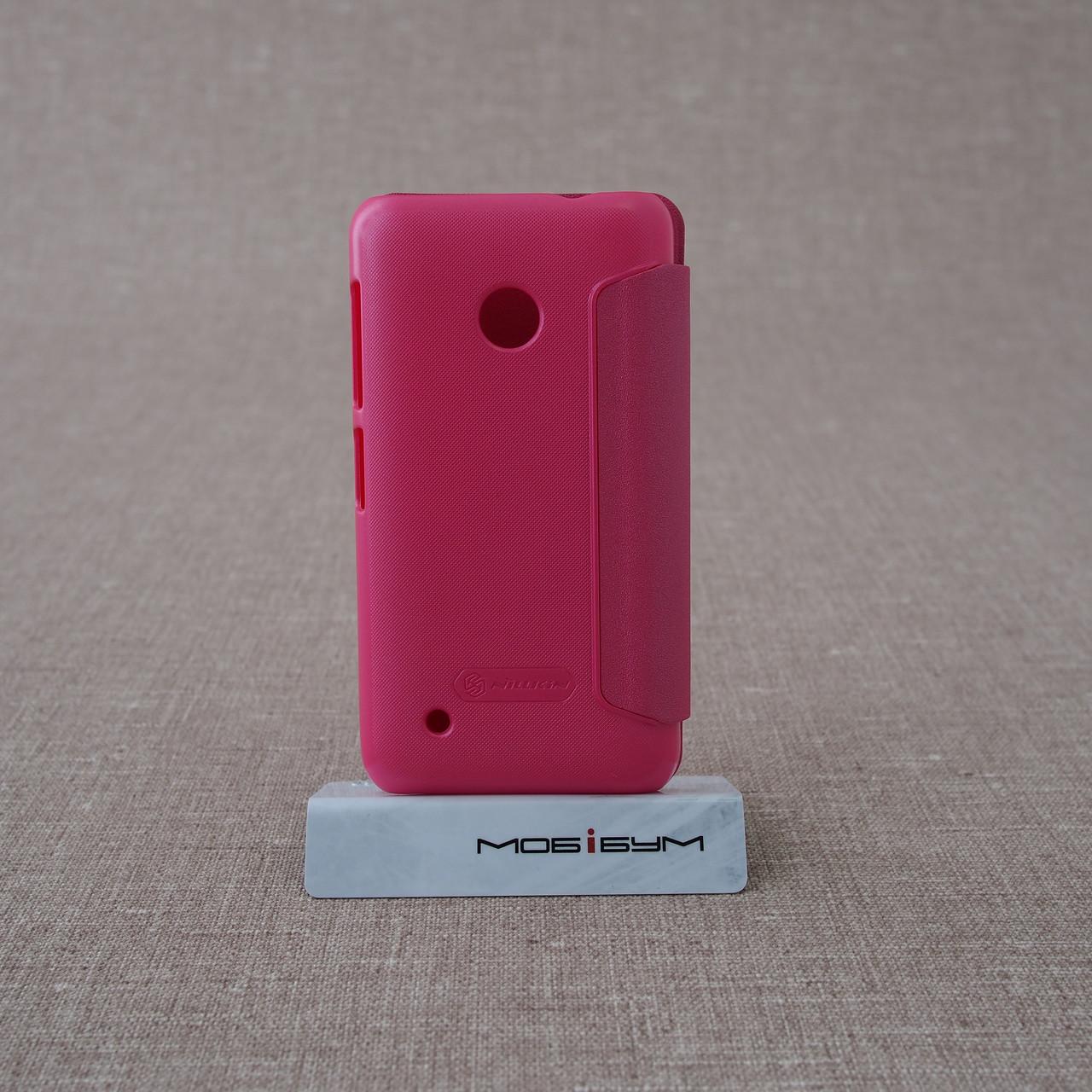 Чехлы для Nokia Nillkin Sparkle Lumia 530 pink Для телефона