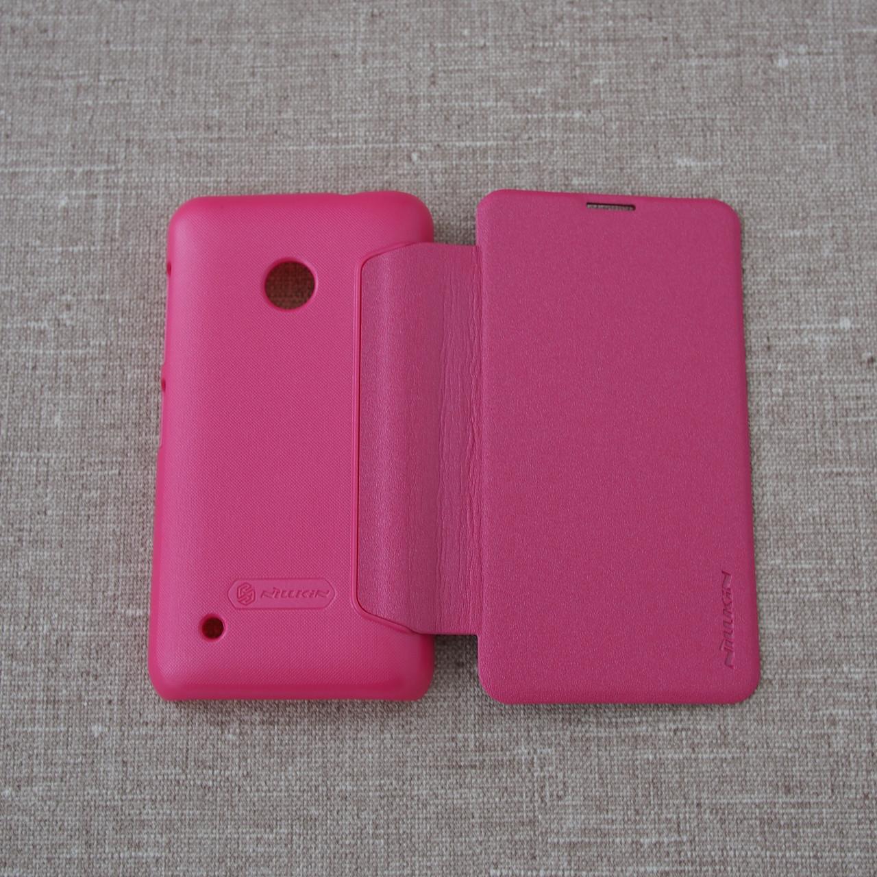 Nillkin Sparkle Nokia Lumia 530 pink Для телефона