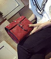 Стильныя небольшая сумочка с мраморным оттенком, фото 3