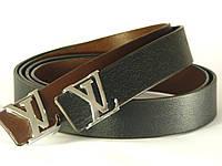 Кожаный ремень Luis Vuitton LV