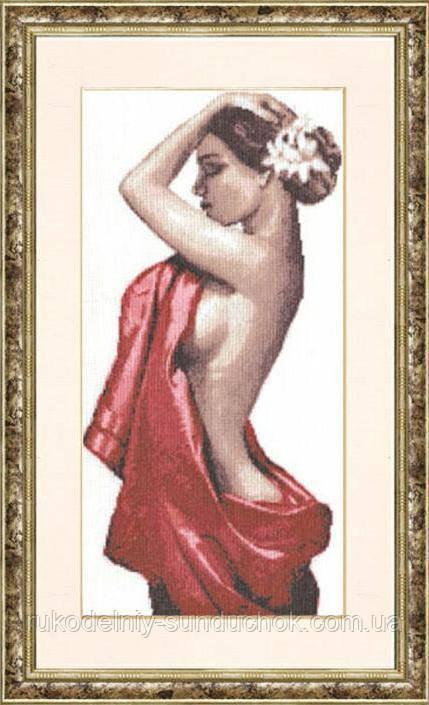 """Набор для вышивания крестом ТМ Золотое Руно """"Кармен. Графика в теплых тонах """" ГТ-026"""