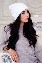 Демисезонная женская шапка в 2х цветах 4208