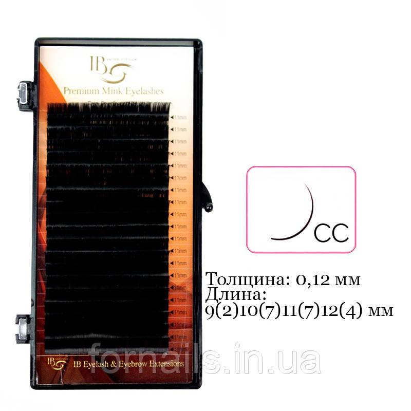 Ресницы I-Beauty на ленте СС, 0.12 мм, 9(2)10(7)11(7)12(4) мм