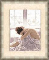 """Набор для вышивания крестом ТМ Золотое Руно """"Утро. Графика в тёплых тонах """" ГТ-038"""