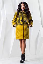 Модное красивое женское пальто в 7х цветах В-971