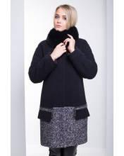 Красивое зимнее женское пальто оверсайз