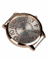 Большие часы женские наручные на шелковом шарфе Италия